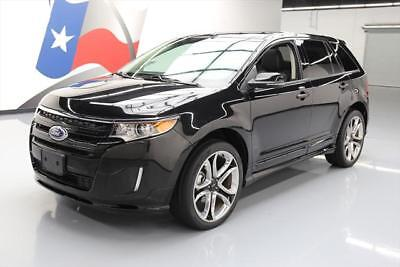 2014 Ford Edge Sport Sport Utility 4-Door 2014 FORD EDGE SPORT PANO ROOF NAV REAR CAM 22'S 16K MI #A94905 Texas Direct
