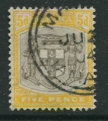 Jamaica KEVII 1904 5d CDS used