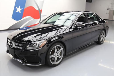 2015 Mercedes-Benz C-Class Base Sedan 4-Door 2015 MERCEDES-BENZ C300 SPORT TURBOCHARGED NAV 18K MI #072035 Texas Direct Auto
