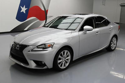 2015 Lexus IS  2015 LEXUS IS250 SUNROOF REAR CAM XENONS ALLOYS 22K MI #073247 Texas Direct Auto