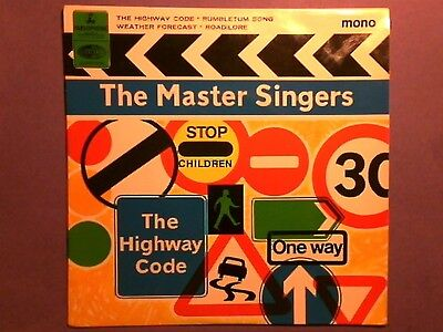 """The Master Singers - The Highway Code (7"""" EP) picture sleeve GEP 8962"""