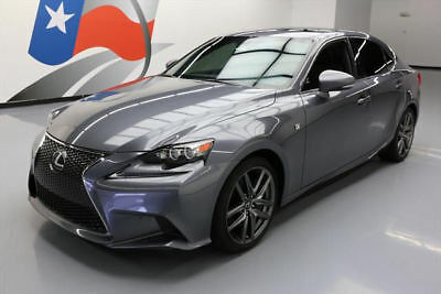2014 Lexus IS  2014 LEXUS IS350 AWD F SPORT SUNROOF NAV REAR CAM 32K #001684 Texas Direct Auto