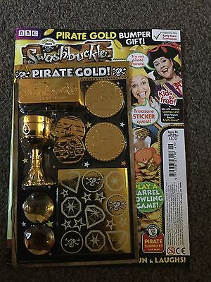 CBeebies Swashbuckle Magazine Issue 26 pirate gold