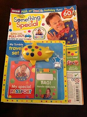 CBeebies Something Special Magazine Issue 17 my tumble travel set
