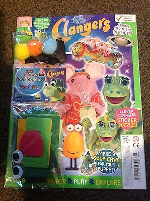 Clangers Magazine #4 - MAKE YOUR OWN SOUP DRAGON + FROGLETS! :)