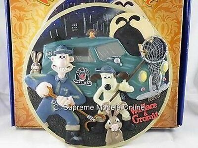Wallace & Gromit Ltd Edition Collectors Plate Only 3,000 Made Were Rabbit <**>