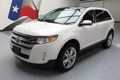 2014 Ford Edge Limited Sport Utility 4-Door 2014 FORD EDGE LIMITED AWD PANO SUNROOF NAV LEATHER 30K #A00812 Texas Direct