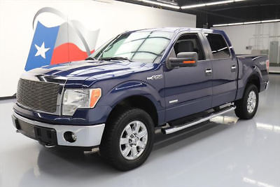 2013 Ford F-150  2013 FORD F-150 TEXAS CREW ECOBOOST 4X4 SIDE STEPS 91K #A29074 Texas Direct Auto