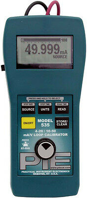 PIE 535PIECAL 4-20/10-50 mA Dual Range Loop Calibrator