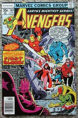 Avengers #168, 172, 173, 174, 175, 177 - Korvac - Guardians Of The Galaxy - Nm