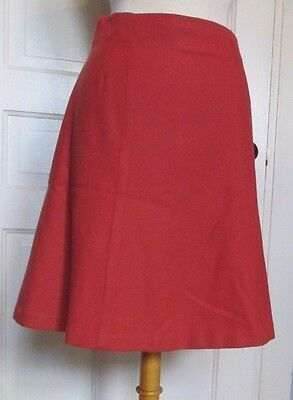 Vintage 1960's-70's Women's A-Line Skirt 100% Wool Size S/M