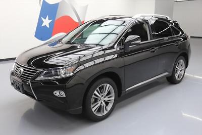 2015 Lexus RX Base Sport Utility 4-Door 2015 LEXUS RX350 PREMIUM CLIMATE SEATS SUNROOF NAV 34K #198449 Texas Direct Auto