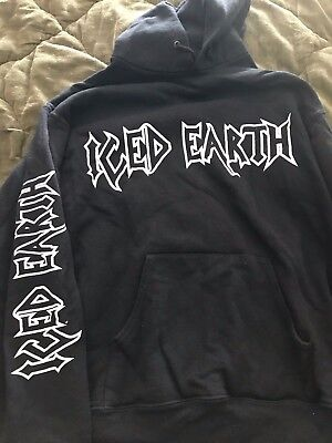 ICED EARTH RARE  SWEATSHIRT made in early 2000 OUT OF PRINT
