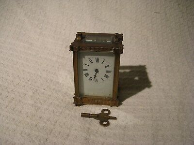 Vintage French Brass Carriage Clock – For Restoration
