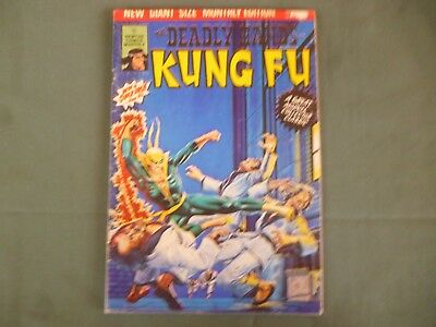The Deadly Hands Of Kung Fu # 2. Newton Comics Monthly 1976 Aus reprint