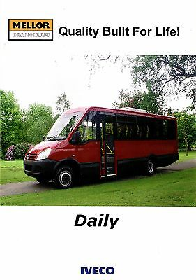 Bus Manufacturers Specification Sheet ~ Mellor Coachcraft - Iveco Daily - c.2010