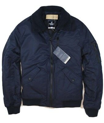 $129 American Eagle Outfitters Sherpa Lined Aviator Bomber Jacket - S, M, L, XL