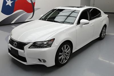 2013 Lexus GS Base Sedan 4-Door 2013 LEXUS GS350 PREM SUNROOF NAV CLIMATE SEATS 15K MI #027778 Texas Direct Auto