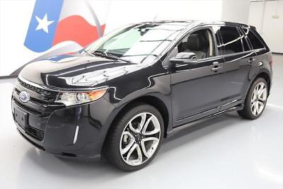 2014 Ford Edge Sport Sport Utility 4-Door 2014 FORD EDGE SPORT AWD PANO ROOF NAV LEATHER 22'S 73K #A46516 Texas Direct