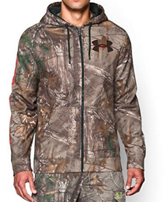 Under Armour Mens Camo CG Infrared Full Zip Jacket Hoodie 1262479 Size XL/TG NWT