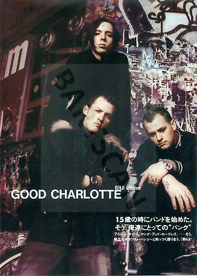 Good Charlotte - Clippings From Japan Magazine Rockin'on 2003 - 2010