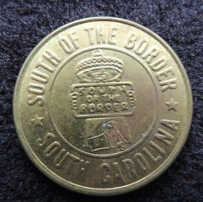 { SOUTH  OF  THE  BORDER }      GOOD  LUCK      Token        EARLY  ONE