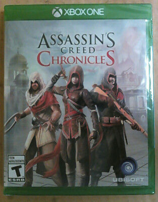 NEW Assassin's Creed Chronicles Trilogy Game Pack for Microsoft Xbox One