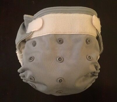 Rumparooz One Size Adjustable Diaper Cover Platinum