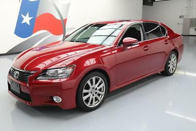 2014 Lexus GS Base Sedan 4-Door 2014 LEXUS GS350 LEATHER SUNROOF NAV REAR CAM 20K MILES #042453 Texas Direct
