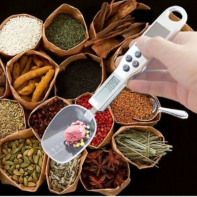 Kitchen LCD Electronic Scale Measuring Spoon300g Digital Food Weighing Device