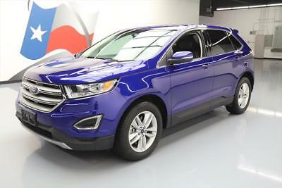 2015 Ford Edge SEL Sport Utility 4-Door 2015 FORD EDGE SEL AWD TECH LEATHER NAV REAR CAM 40K MI #C04609 Texas Direct