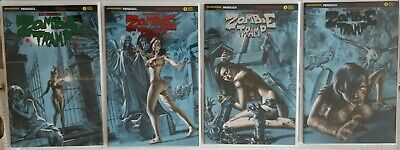 Zombie Tramp Origins Complete Set Of 4 Aod Collectables Covers ** Pre-Order **