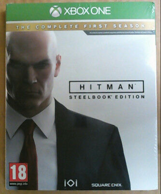 NEW Hitman The Complete First Season Game for Microsoft Xbox One $55