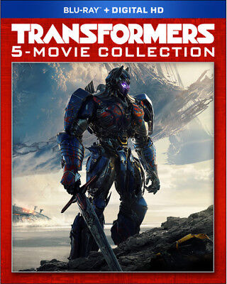 Transformers: The Last Knight - 5 Movie Collection Blu-ray