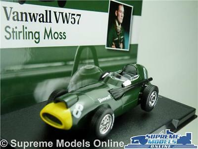 Stirling Moss Vanwall Vw57 Car Model Formula 1 Racing 1:43 Size One 1957 T34Z