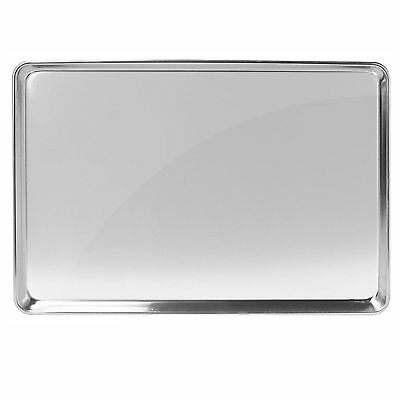 "Gridmann 15"" x 21"" Commercial Grade Aluminium Cookie Sheet Baking Tray Pan"