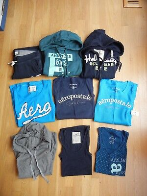 Hollister Aero Abercrombie XS Tank Tops Shirt Sweatshirt Hoodies 3 Are New Lot 9