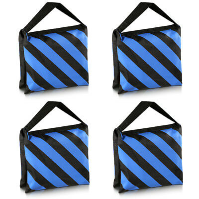 Neewer 4X Black Blue Heavy Duty Sand Bag Studio Video Light Stand Sandbag