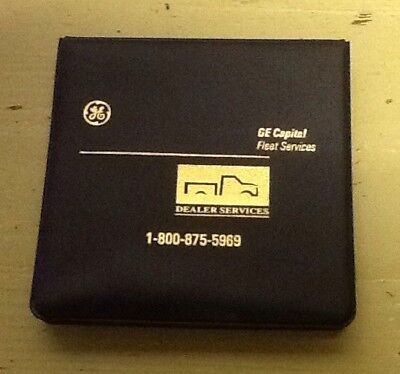 GE Capital Fleet Services Note Pad Advertising Promo New Lot Of 5