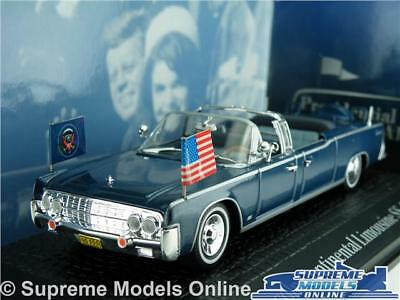 Kennedy Lincoln Continental Limousine Car Model 1:43 Norev Presidential Cars T3Z