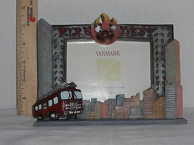 """Vanmark Red Hats of Courage- """"Service to the City Frame"""""""