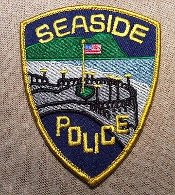 OR Seaside Oregon Police Patch