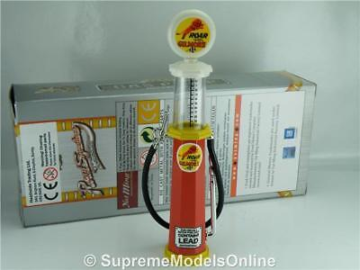 Gilmore Petrol Gas Pump Model 1/18Th Scale Visible Red/white Example T3412Z(=)