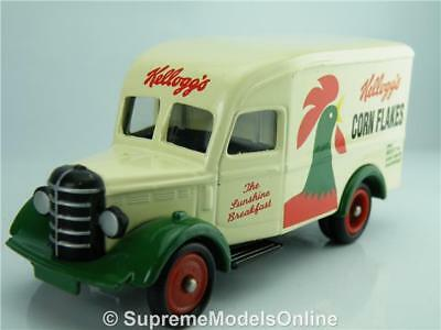 Kelloggs Corn Flakes 30Cwt Bedford Van Dg063 Model 1/76 Approx Issue K8967Q~#~