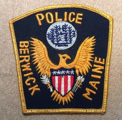 ME Berwick Maine Police Patch