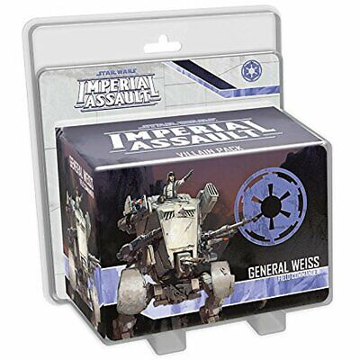 Star Wars Imperial Assault General Weiss Villain Pack Expansion Board Game