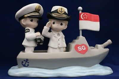 Precious Moments Singapore Thots Exclusive SERVING AT SEA TO PROTECT YOU AND ME