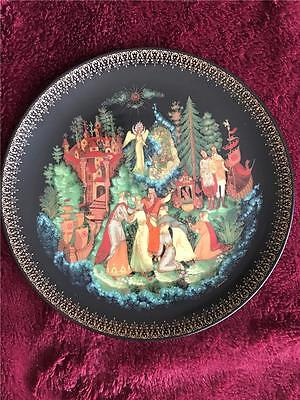 Vinagradoff Russian Legends Plate Tsar Saltan