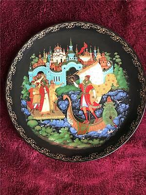 Russian Legends Plate Sadko