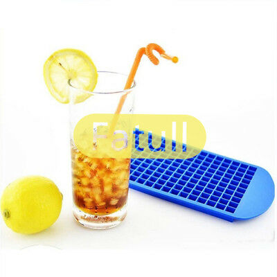 160 Mini Small Ice Cube Tray Frozen Cubes Trays Kitchen Tol Silicone Ice Mold